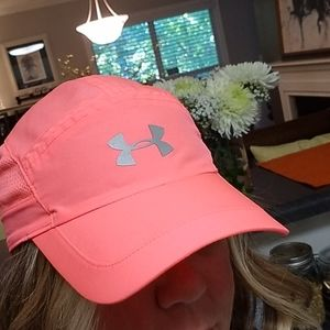 Under Armour bright coral one size hat